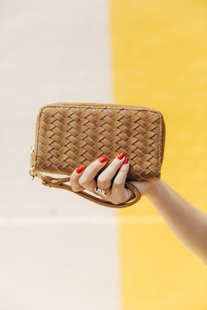 The most fashionable wallet, it's a great clutch too!