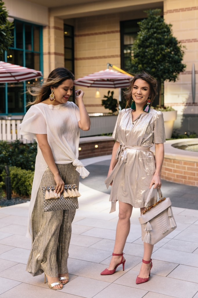 Dressing Up in Metallics
