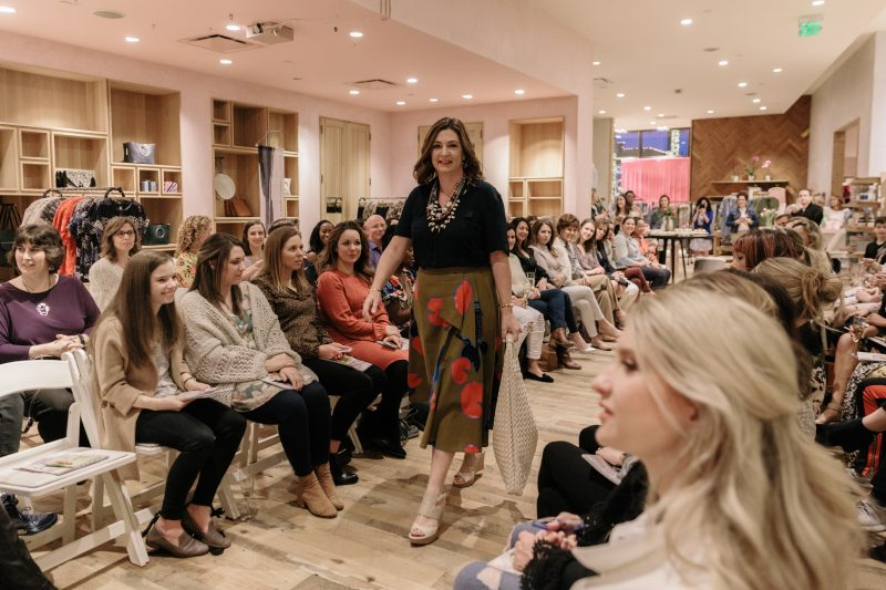 Anthropologie Fashion Show