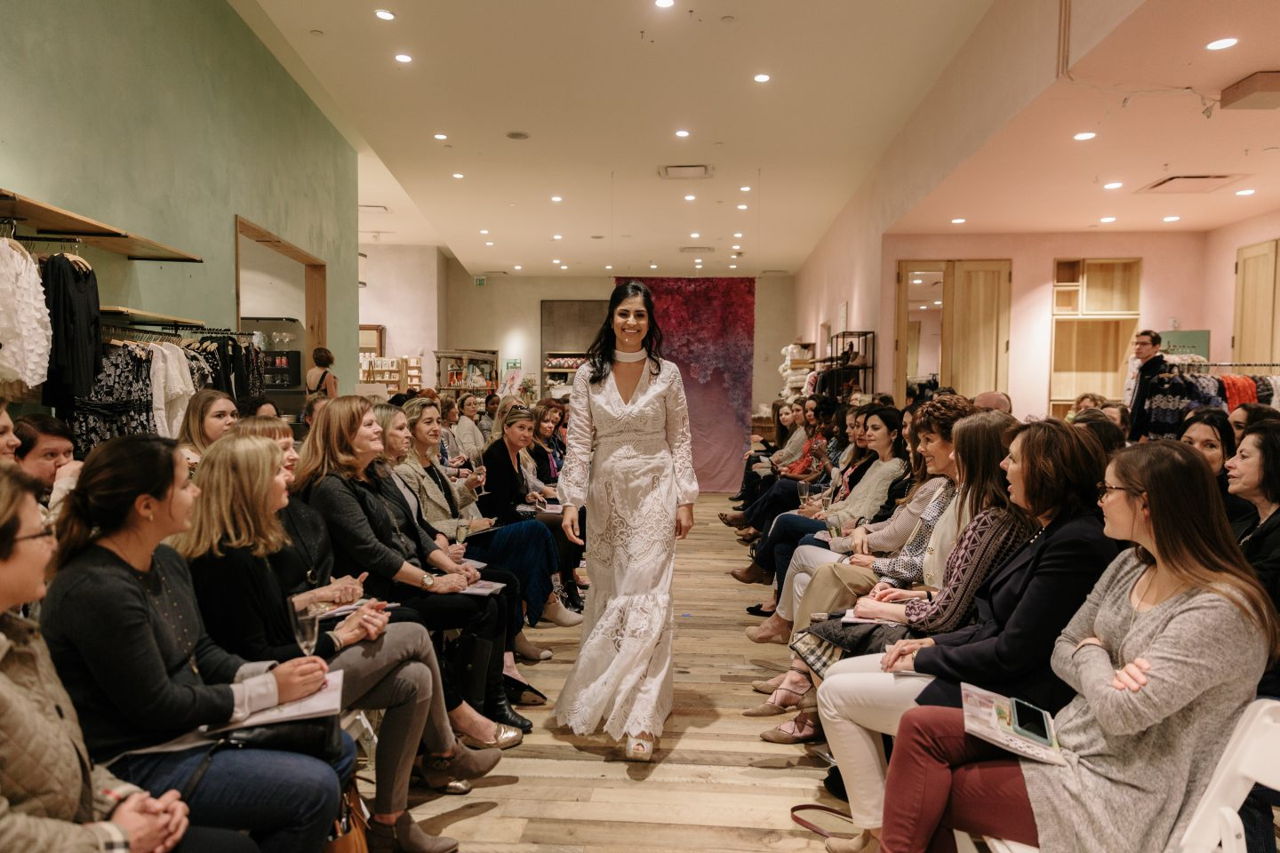 My First Anthropologie Fashion Show – Spring 2018