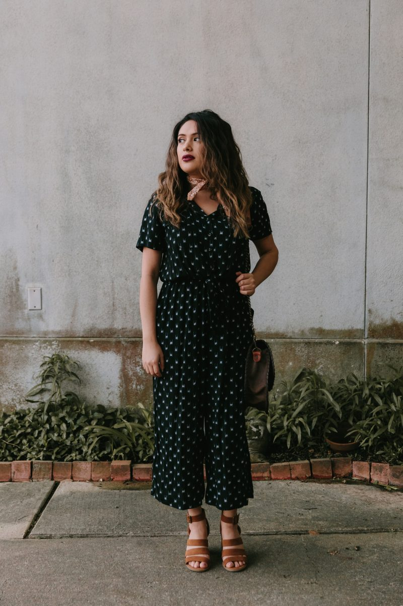 Tie Front Jumpsuit by Universal Threads