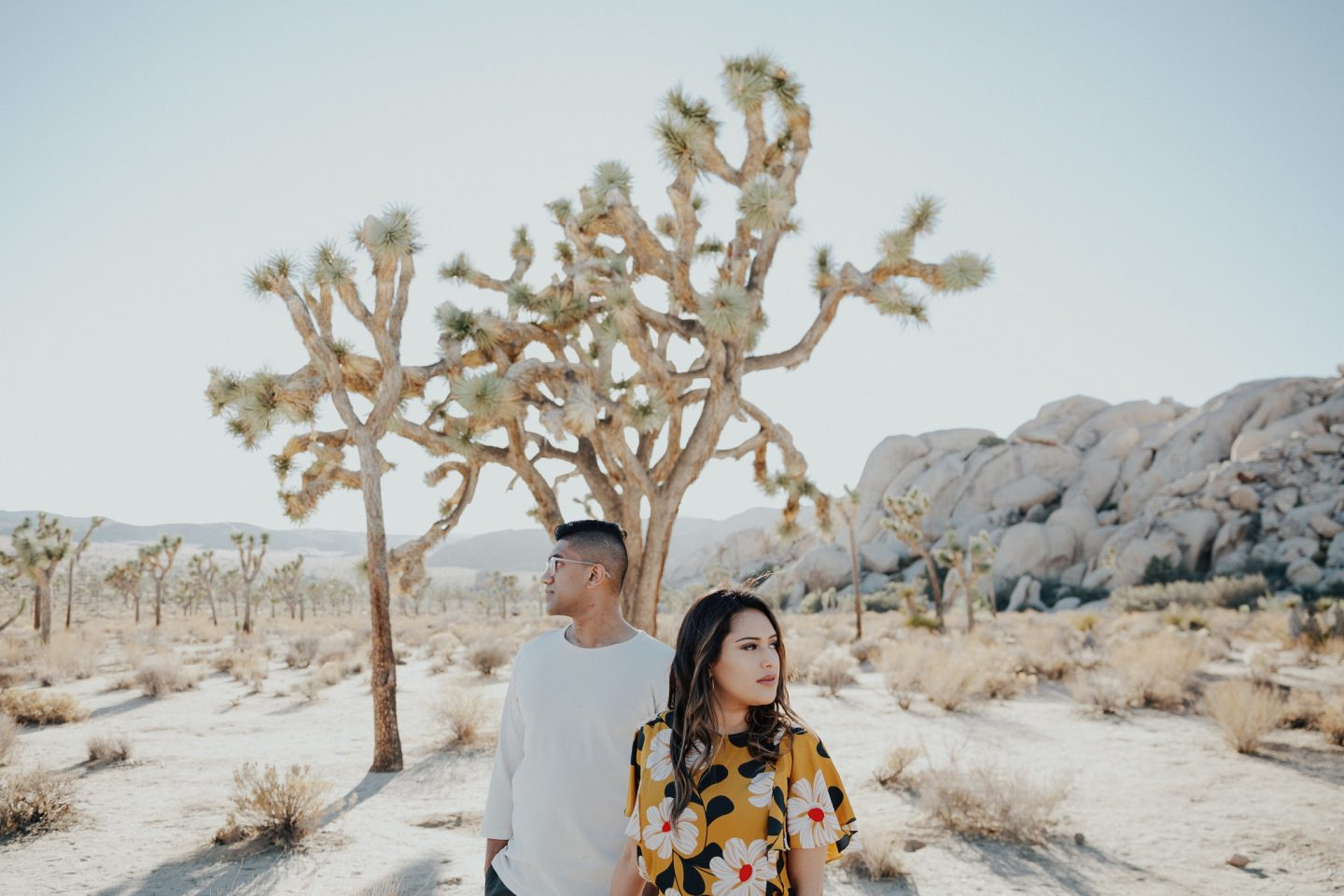 Engagement Shoot at Joshua Tree