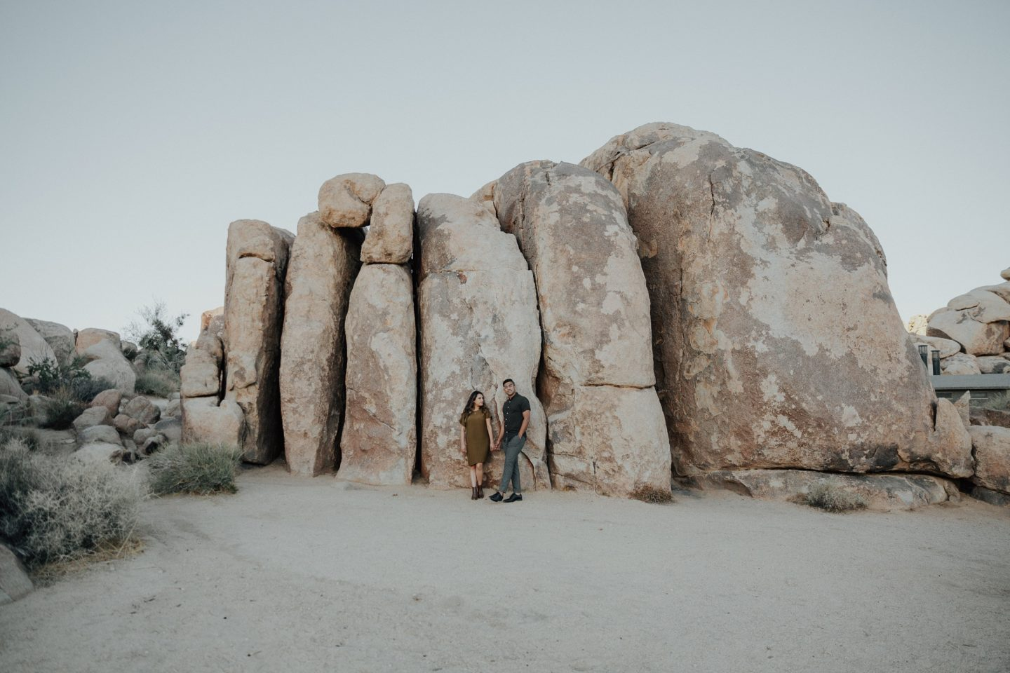 Engagement Shoot at Joshua Tree Part 2