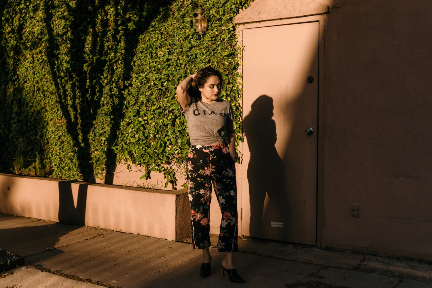 Ciao Top + Cropped Floral Pants