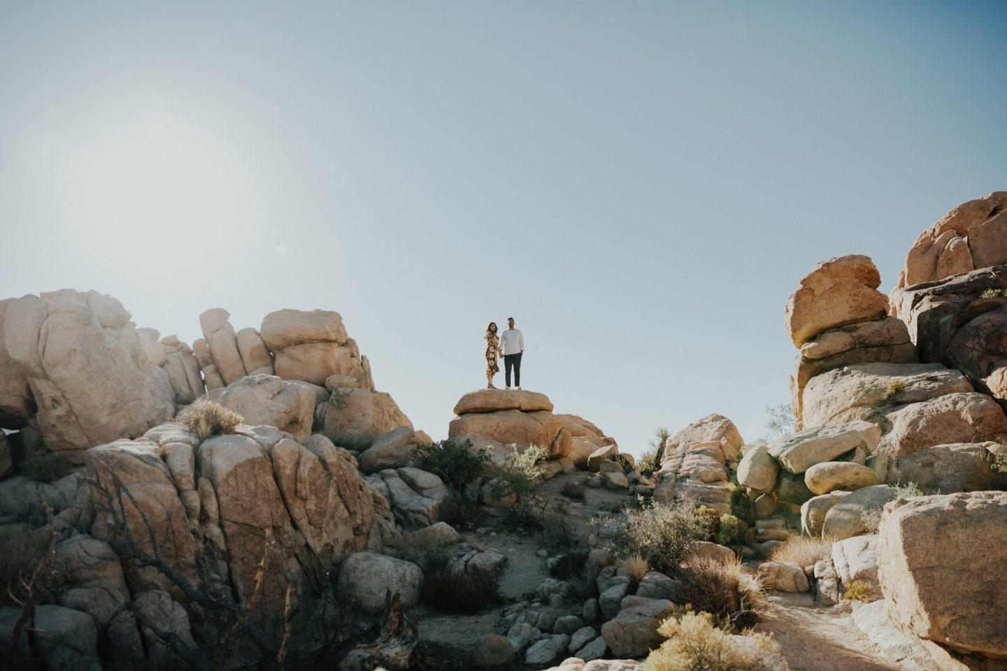 Engagement Shoot At Joshua Tree Part 1